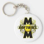 Mamá del softball (cruz) copy.png llaveros personalizados