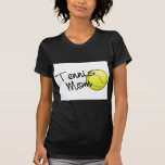 Mamá del tenis camiseta