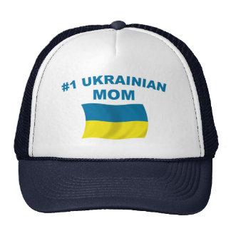 Mamá del ucraniano #1 gorras