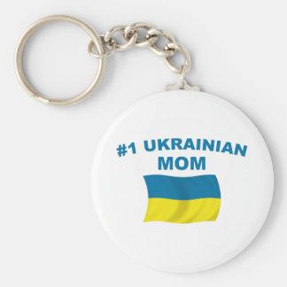 Mamá del ucraniano #1 llavero