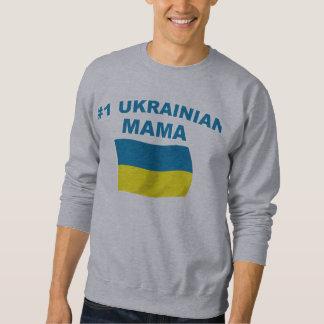 Mamá del ucraniano #1 sudadera con capucha