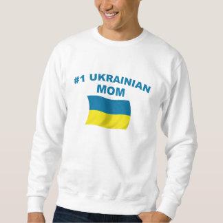 Mamá del ucraniano #1 sudaderas encapuchadas