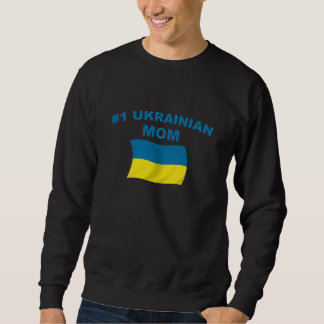 Mamá del ucraniano #1 suéter
