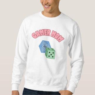 Mamá del videojugador - dado suéter