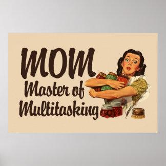 Mamá del vintage poster