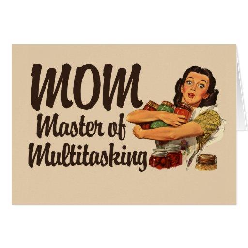 Mamá del vintage tarjetas