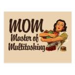Mamá del vintage tarjeta postal