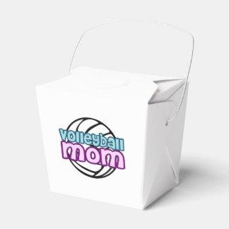 Mamá del voleibol caja para regalos de fiestas