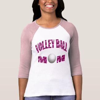 Mamá del voleibol camisas