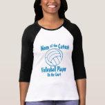 Mamá del voleibol camisetas