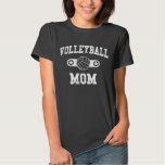 Mamá del voleibol del vintage playeras