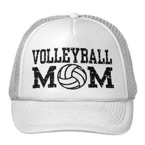 Mamá del voleibol gorro de camionero