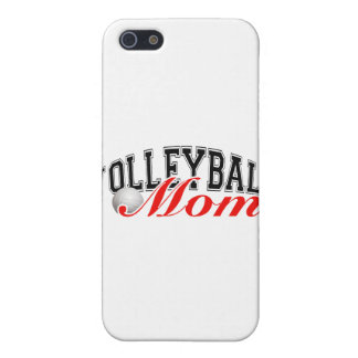 Mamá del voleibol iPhone 5 funda
