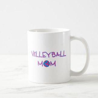 Mamá del voleo tazas de café