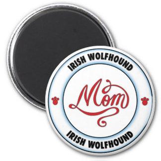 Mamá del WOLFHOUND IRLANDÉS Iman De Frigorífico