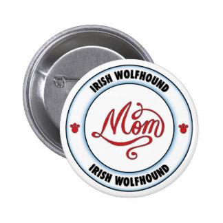 Mamá del WOLFHOUND IRLANDÉS Pins
