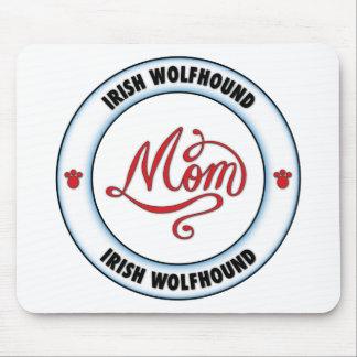 Mamá del WOLFHOUND IRLANDÉS Tapete De Ratones