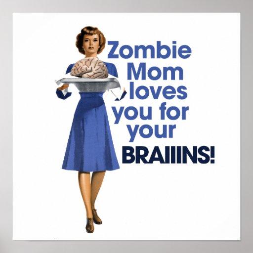 Mamá del zombi póster