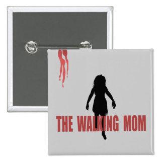 Mamá (del zombi que camina) pin