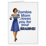 Mamá del zombi tarjeton