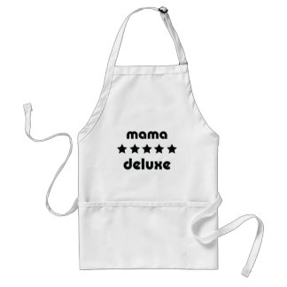 mama deluxe icon adult apron