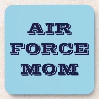 Mamá determinada de la fuerza aérea del práctico d posavaso