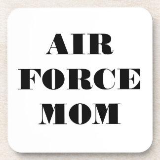 Mamá determinada de la fuerza aérea del práctico d posavasos de bebida