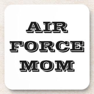 Mamá determinada de la fuerza aérea del práctico d posavasos de bebidas