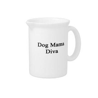 Mamá Diva del perro Jarron