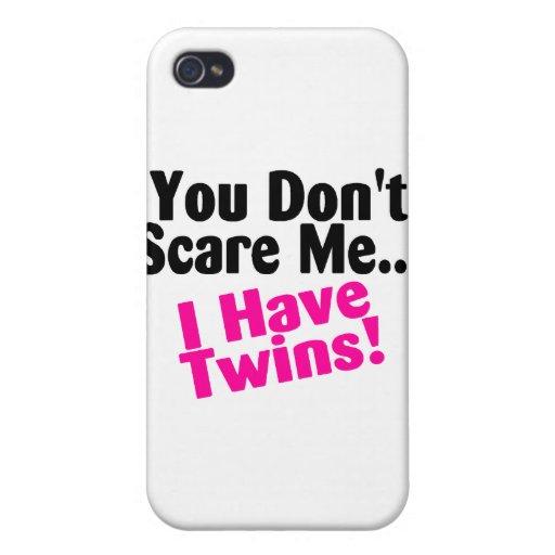 Mamá divertida del caso del iPhone de los gemelos iPhone 4 Carcasa