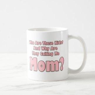 Mamá divertida tazas