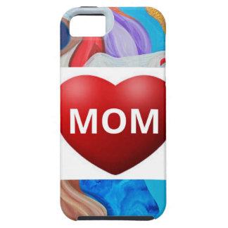 Mamá dominante del amor iPhone 5 carcasa