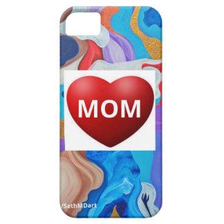 Mamá dominante del amor iPhone 5 fundas