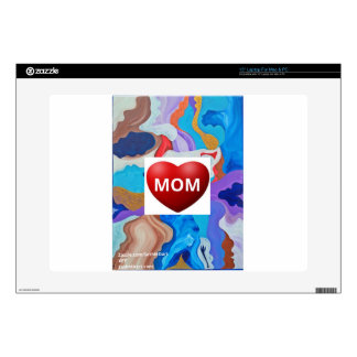 Mamá dominante del amor skins para 38,1cm portátiles
