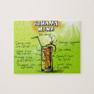 Mamá Drink- Cocktail Gift de Bahama Rompecabezas Con Fotos