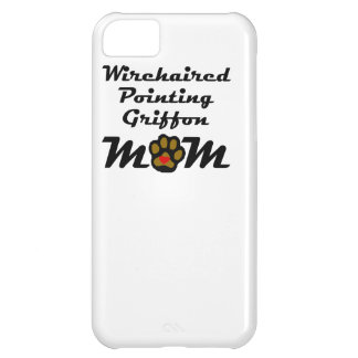 Mamá el señalar Griffon Wirehaired