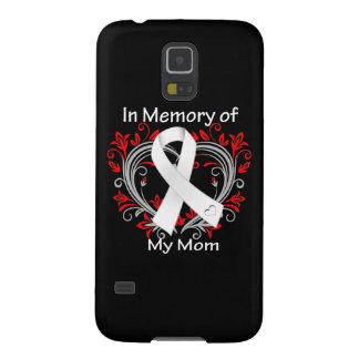 Mamá - en corazón del cáncer de pulmón de la carcasas de galaxy s5