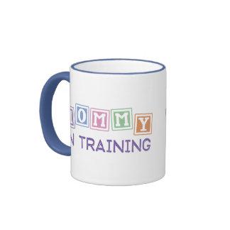 Mamá en el entrenamiento tazas