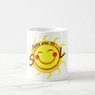 Mama eres mi SOL Coffee Mug