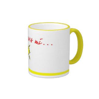 Mama eres mi sol ringer mug