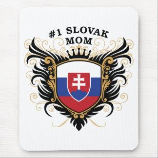 Mamá eslovaca del número uno mouse pads