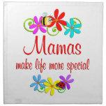 Mamá especial servilletas de papel