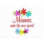 Mamá especial tarjeta postal