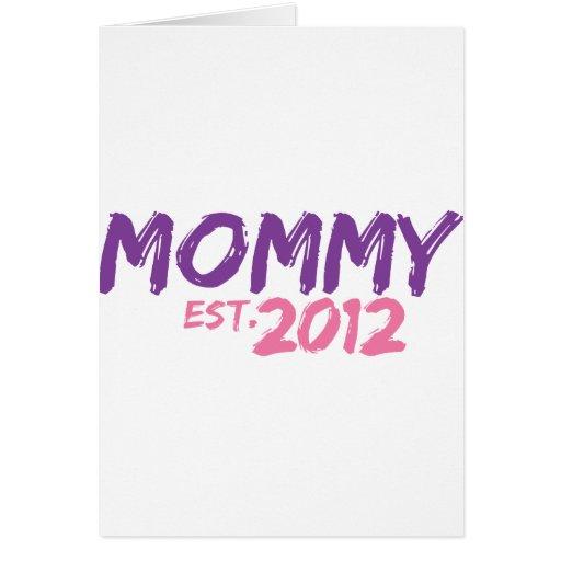 Mamá Est 2012 Tarjetón