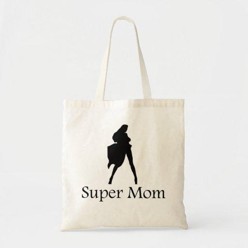 Mamá estupenda bolsa tela barata