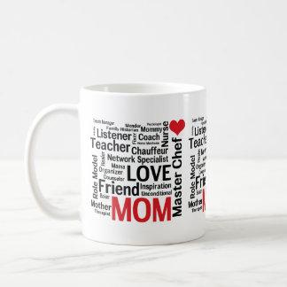 Mamá estupenda multitalentosa asombrosa del día de taza de café
