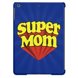 Mamá estupenda roja/amarillo/el día de madre azul  funda para iPad air