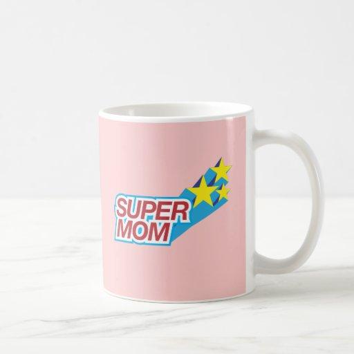 Mamá estupenda tazas de café
