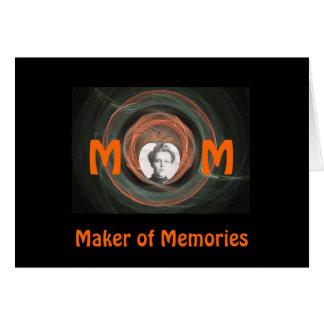 Mamá, fabricante de memorias felicitacion