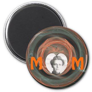 Mamá, fabricante de memorias iman
